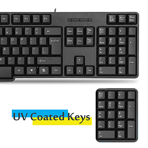 UV Coated Keys