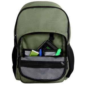 ecogear, dhole, backpack, bag, pack, schoolbag, front zipper, storage, supplies
