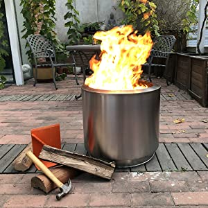 bonfire stove