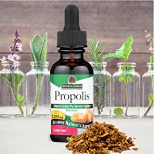 Nature's Answer, Propolis, Alcohol Free, concentrated, gluten free