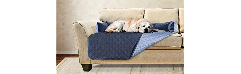 Amazon Com Furhaven Pet Furniture Cover Sofa Buddy