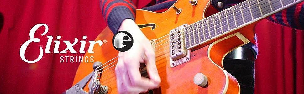 elixir strings 19052 coated nickel electric guitar strings light 010 046. Black Bedroom Furniture Sets. Home Design Ideas