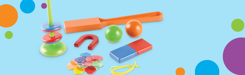 Color Juego de magnetismo Magnet Movers Stem Explorers LER9295 Learning Resources