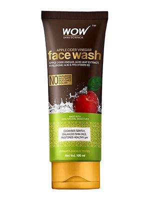 WOW Skin Science Apple Cider Vinegar Face Wash – 100mL