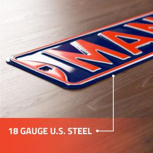 18 Gauge U.S. Steel