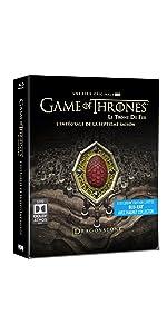 Game of Thrones,GOT,saison 7,exclusif,inédit,steelbook,dragon,HBO,marcheur blanc,bonus
