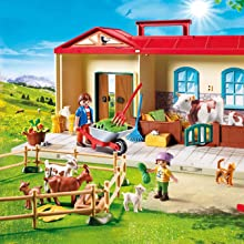 Playmobil, Country, Farm, Take Along, Outdoor, Animals, Accessories, Figures