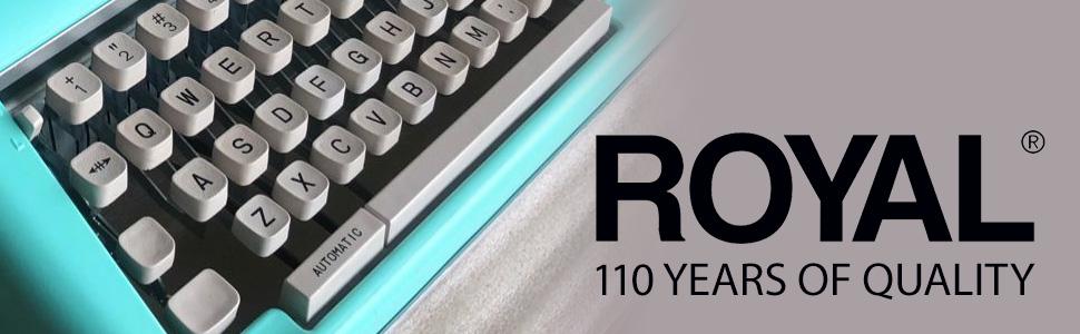 royal, typewriter