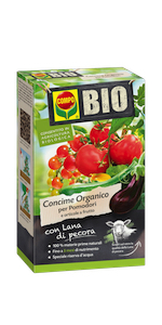 Concime pomodori biologico pecora