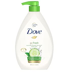 Dove go fresh Body Wash with cool moisture