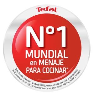 Tefal Duetto A705SC84 Batería compuesta por cazo de 16 cm, cacerola 18, 20 y 24 cm y olla 22 cm y todas las tapas, aptas para inducción y horno
