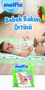 Molfix Bebek Bakım Örtüsü