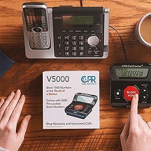 cpr v5000 call blocker
