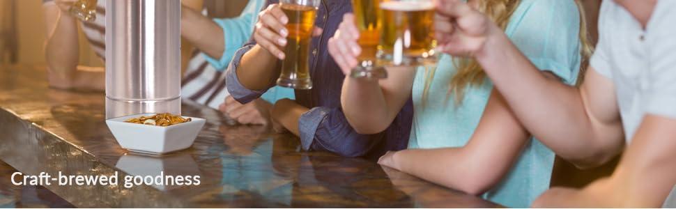 beer dispenser; growler; beer despensers; beer growler; mini keggerators; beer kettles