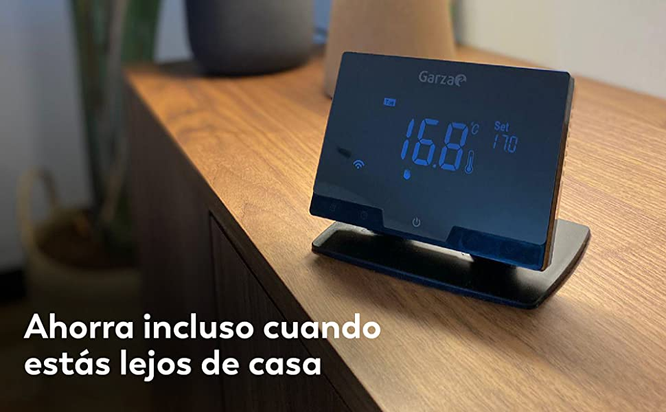 Termostato, temperatura, climatizacion, garza, garza smart, smart, wifi, domotica, smarthome