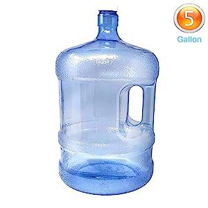 5 Gallon Water Bottle for Dispenser Reusable Water Jug office or residential