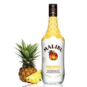 Malibu Caribbean Pineapple Rum, 70cl: Amazon.co.uk: Grocery