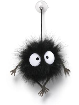 "GUND Spirited Away Soot Sprite Stuffed Animal Plush Window Cling, Black, 1.5"""