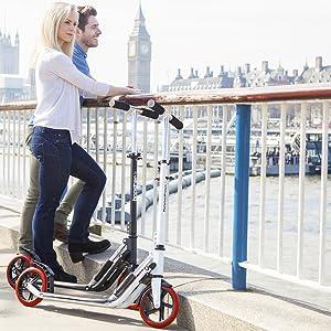 Bopster Patinete Sport Pro – Patinete para viajeros urbanos ...