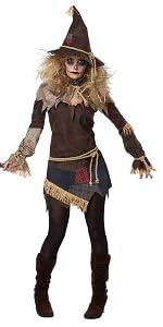 Scarecrow, Women's Costume, Scary, Trick, Creepy, Corn Field, Halloween, Haunted House, Horror