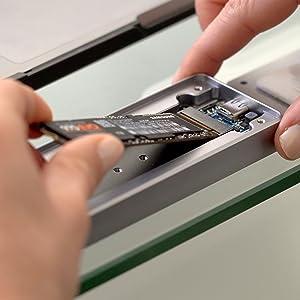 NVMe enclosure SSD