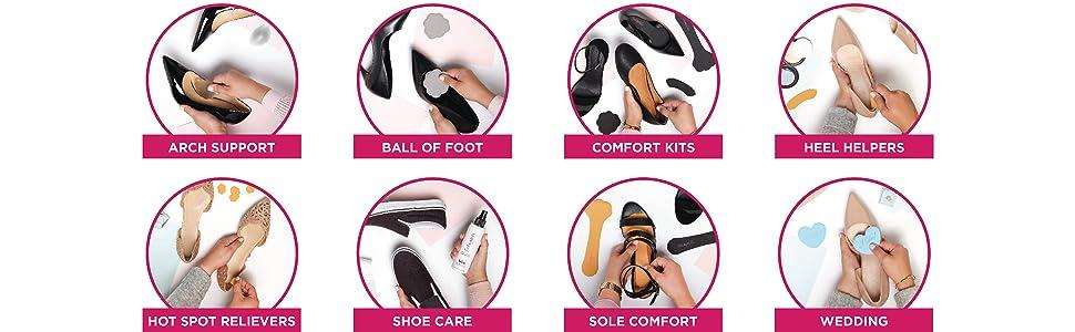 3a97fb07d0 Amazon.com: Foot Petals Amazing Arches, Technogel, 1 Pair: Shoes
