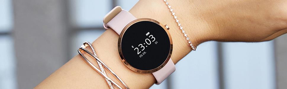 X-WATCH SIONA Smartwatch Damen iOS und Android Watch..