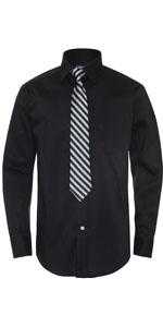 boys black shirt; evening event kids; kids dress shirt; camisa y corbata de nino; ropa elegante nino