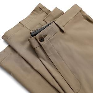 Men's Pants, Pants with Button, Casual Pants, Mens Casual Pants, Haggar Pants, Haggar Casual Pants