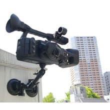 大型カメラも搭載可能