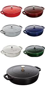 ストウブ ブレイザー すき焼き 鍋
