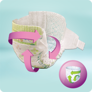 Couches Pampers Premium Protection Active Fit