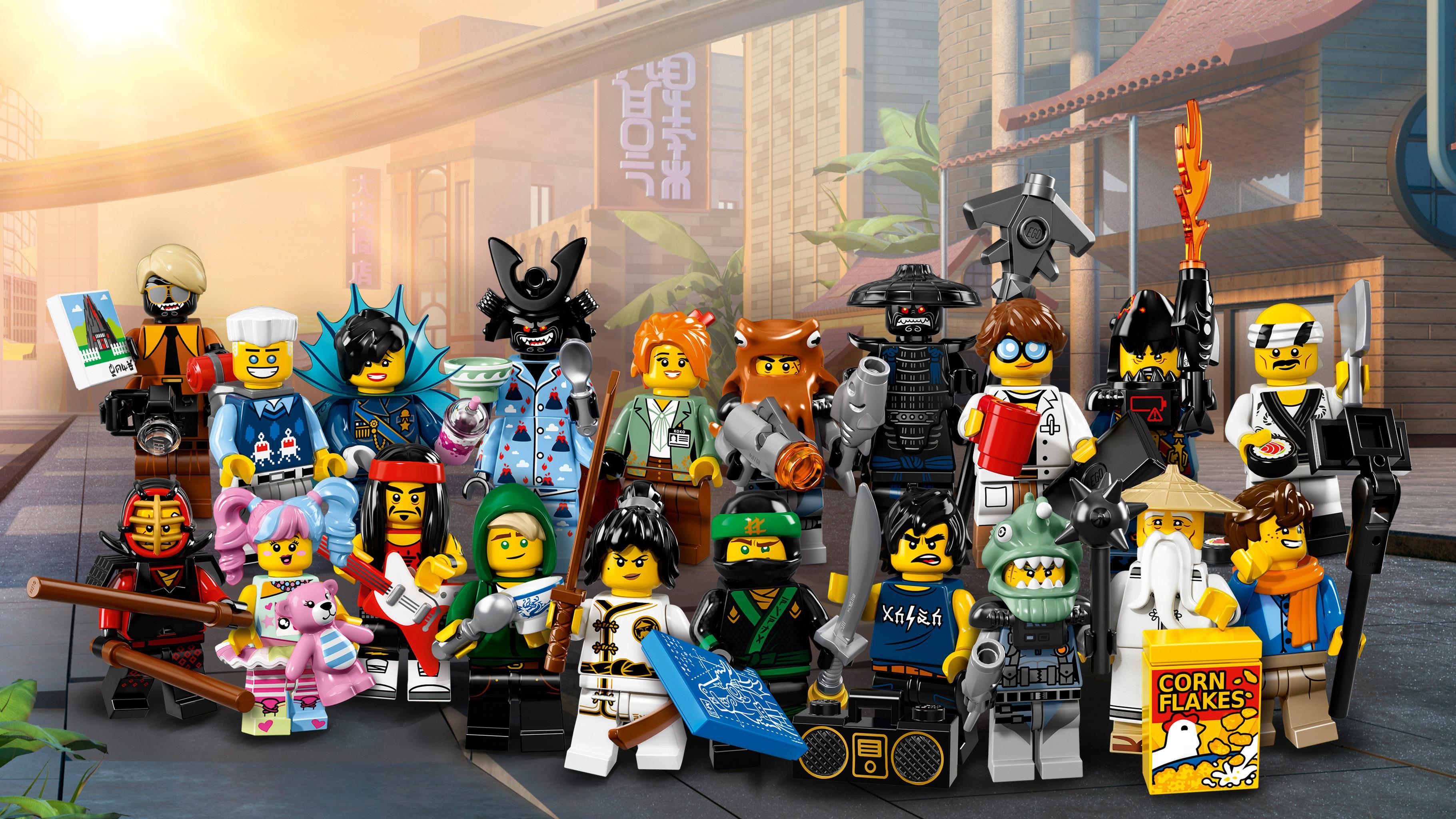 LEGO Minifiguras 71019 Colección de minifiguras de The Lego Ninjago Movie