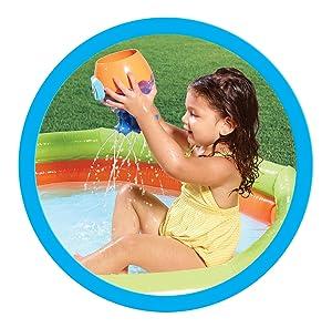 TOMY E72548 Spritziger Badespaß Oktopus Kleinkindspielzeug