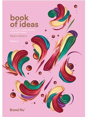 Book, ideas, design, creativity, illustration, digital art, work advice, radim malinic,