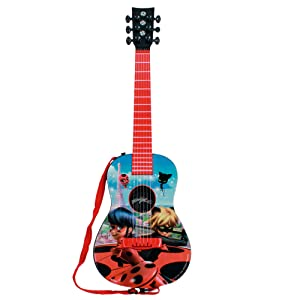 LadyBug - Zag (Miraculous) -2682- Guitarra electrónica- Claudio Reig