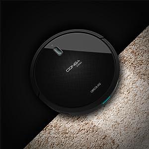 Cecotec Conga 1099 Connected Robot Aspirador con App, Compatible con Alexa y Google Home, con Cepillo Especial Mascotas, Mando a Distancia, Muro ...