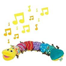 Babyspielzeug Babygeschenk Plüsch Plüschspielzeug Musik Greifling Geburt Taufe 0 Monate