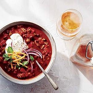 Tiger Mountain Turkey Chili, chili, soup, hearty, turkey, beans