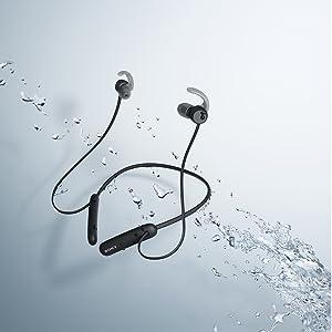 water proof headphone water resistant headphone water proof earphone water resistant earphone