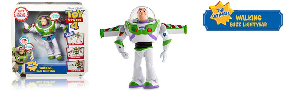 Disney Toy Story 4 Ultimate Walking Buzz Lightyear Interactive Figure