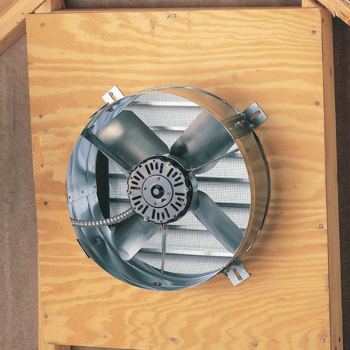 Ventamatic Cx2500ups Cool Attic Power Gable Mount