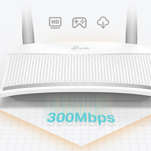 TP-link TL-WR820N 300 Mbps Speed Wi-Fi WiFi Wireless IPv6 Range Coverage Router Jio Fibre