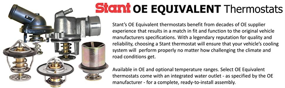 Stant 13878 Thermostat - 180 Degrees Fahrenheit on