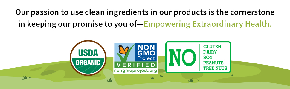 certified organic non-gmo project verified no gluten no dairy no soy no peanuts no tree nuts baby