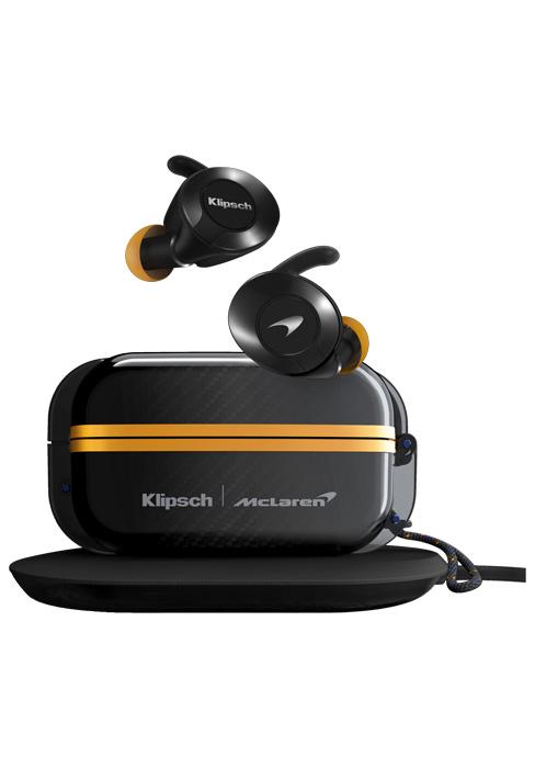 Klipsch McLaren, T5 II True Wireless Sport McLaren, McLaren earphones, best sport earphones
