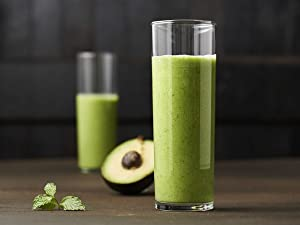 Green Avocado Mint Smoothie