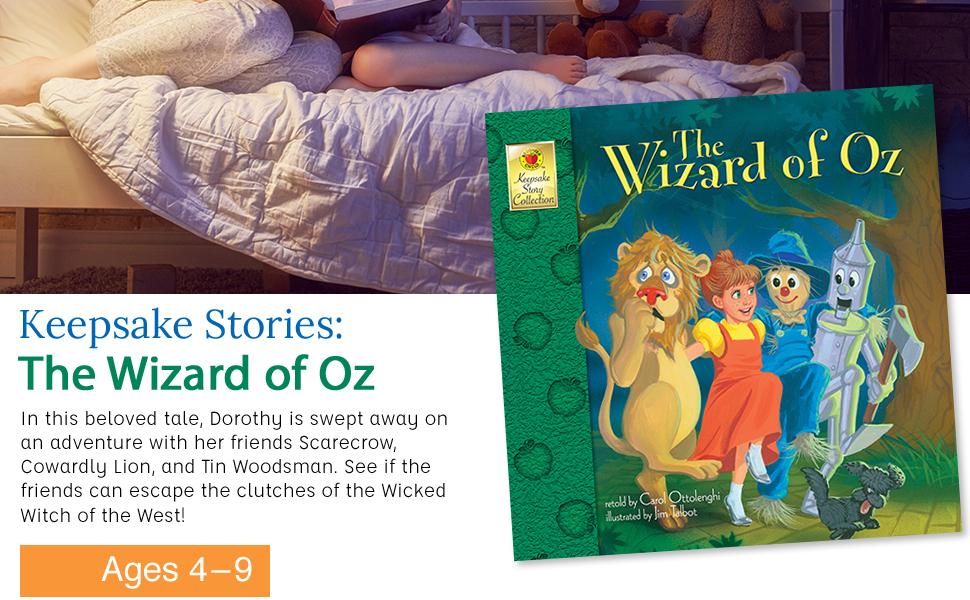 Keepsake Story: Wizard of Oz