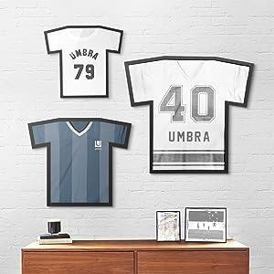 jersey display, tshirt display, tshirt frame, jersey frame,