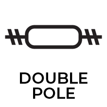 Double Pole